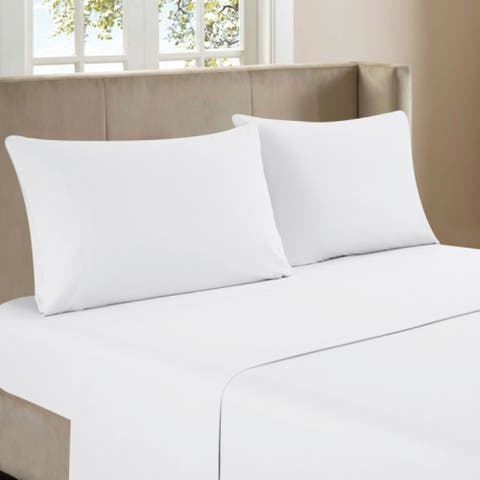 4pc Bamboo Sheet Set Solid Color
