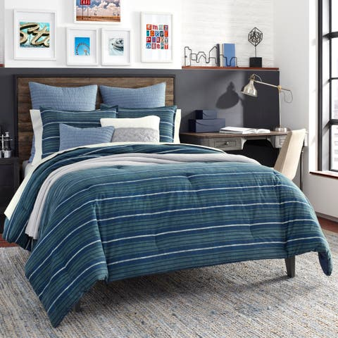 Nautica Jeans Co Claridge Navy Comforter Set