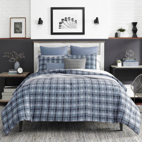 Nautica Jeans Co Pinecrest Charcoal Comforter Set