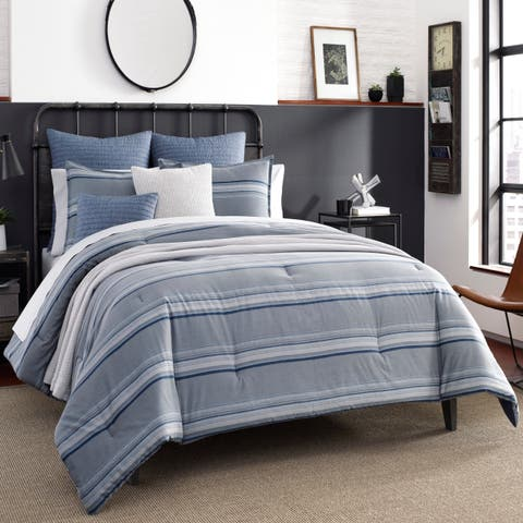 Nautica Jeans Co Eastbury Grey Comforter Set