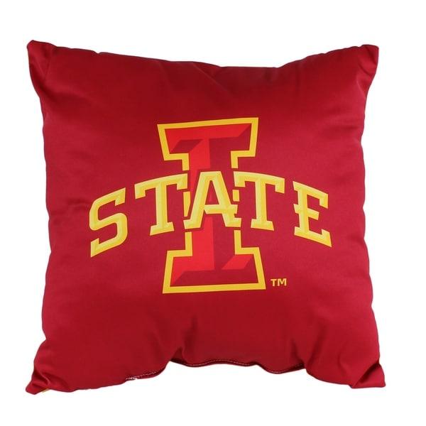Iowa State Cyclones 16 Inch Decorative Throw Pillow