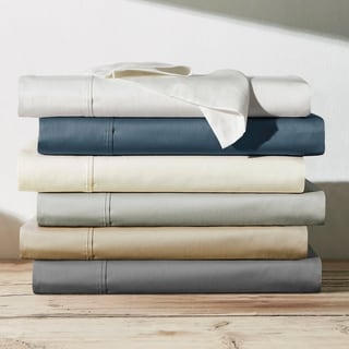 Link to Brielle Home Viscose from Bamboo Sateen Bed Sheet Set Similar Items in Bed Sheets & Pillowcases