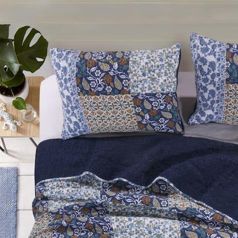 Greenland Home Fashions Pandora Multi Pillow Sham Set (Set of 2 Shams)