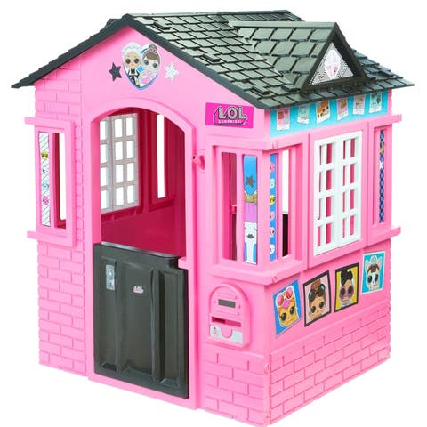 Little Tikes LOL Surprise Cottage Playhouse with Glitter