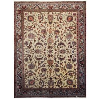Handmade One-of-a-Kind Tabriz Wool Rug (Iran) - 9'2 x 12'8