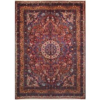 Handmade One-of-a-Kind Mashad Wool Rug (Iran) - 9'3 x 13'5