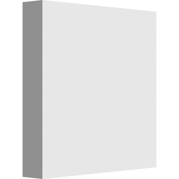 "3""W x 3""H x 1/2""P Standard Sedgwick Rosette with Square Edge"
