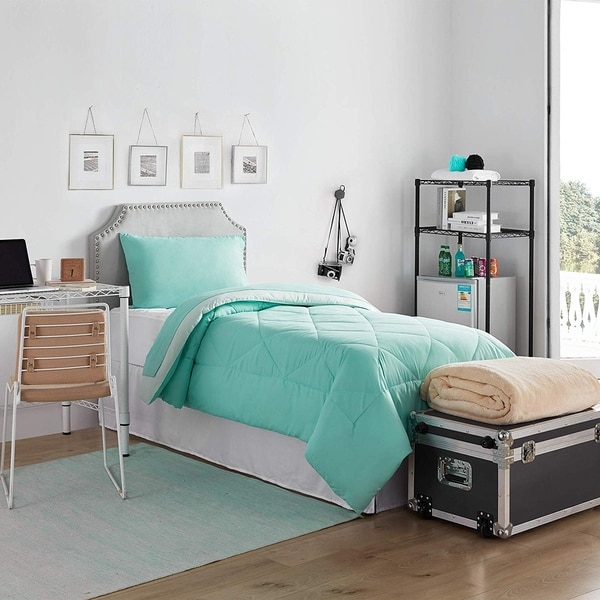 Prime Dorm In A Trunk Pack Twin Xl Yucca Hint Of Mint Color Set Download Free Architecture Designs Scobabritishbridgeorg