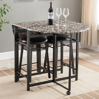 Copper Grove Balve 3-piece Pub Dining Set