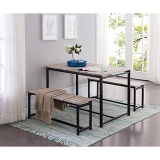 Adeline Counter Height 3 Piece Dining Set