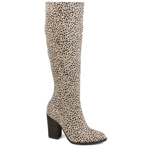 Journee Collection Womens Kyllie Regular Wide Calf and Extra Wide Calf
