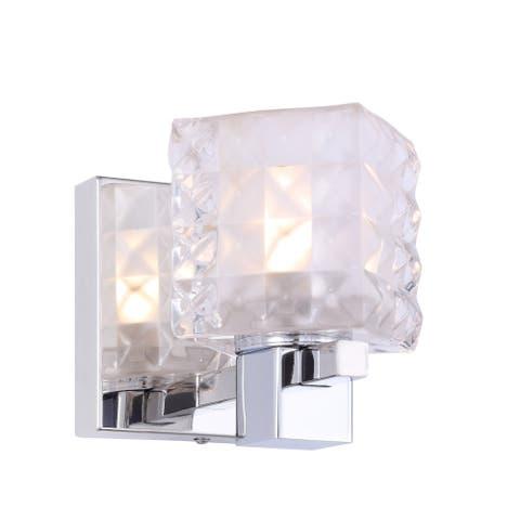 Woodbridge Lighting 18451CHRLE Langston 1-light Bath/ Wall w/ LED
