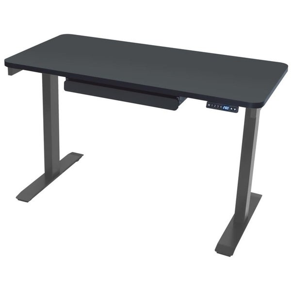 Motionwise SDG48B Electric Standing Desk, 24x48 inch Home Office Series, Black. Opens flyout.