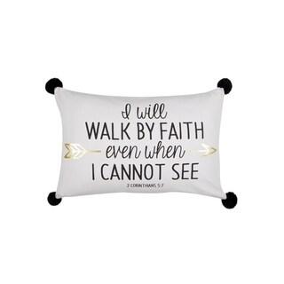 Corinthians 5-7 Throw Pillow Cotton 14x22 inch