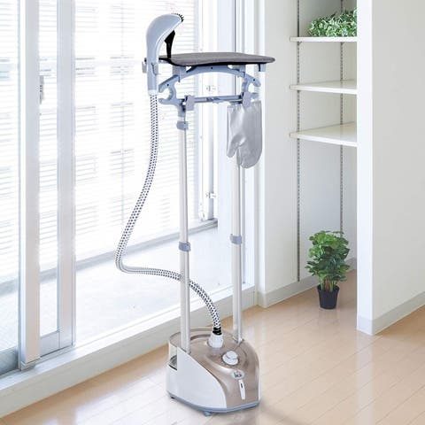 HOMCOM 1350 Watt Upright Garment Steamer with Stand - N/A