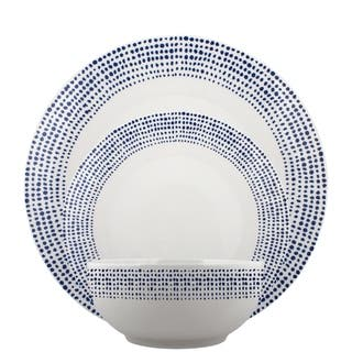 Melange Coupe 36 Piece Porcelain Dinner Set