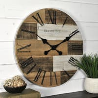 FirsTime & Co.® Pallets Wall Clock