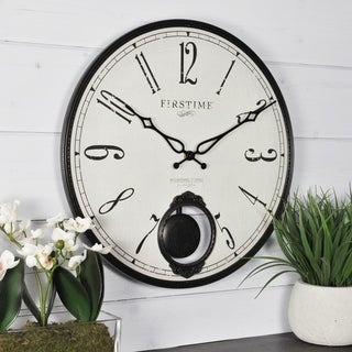 FirsTime & Co.® Bistro Pendulum Wall Clock