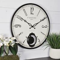 FirsTime & Co.® Bistro Pendulum Wall Clock