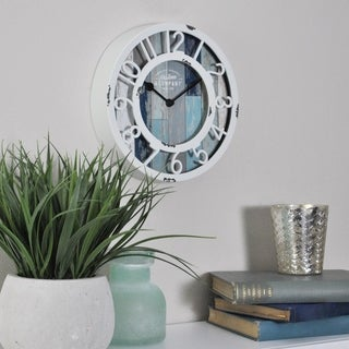 FirsTime & Co.® Tranquil Bay Wall Clock