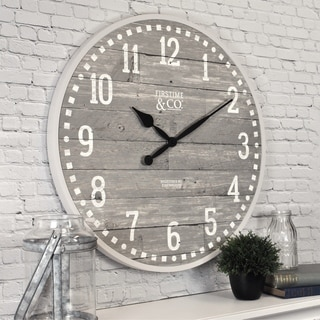 FirsTime & Co.® Arlo Gray Wall Clock - 20""
