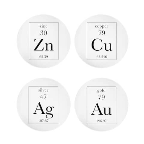 """elements s/4 plates 8""""d"""