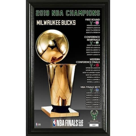 Toronto Raptors 2019 NBA Finals Champions Trophy Pano