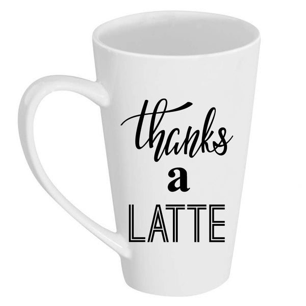 Image result for tall latte mug your image here