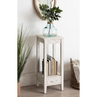 Kate and Laurel Idabelle Wood Square Accent Table - 12x12x30