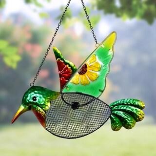 Hummingbird Mesh Wild Bird Seed Feeder