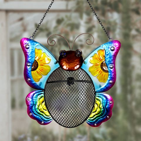 Butterfly Mesh Wild Bird Seed Feeder