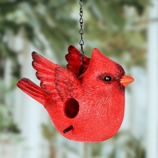9.5 Inch Cardinal Bird House