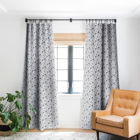 Deny Designs Seashell Starfish Blackout Curtain Panel (2 Size Options)