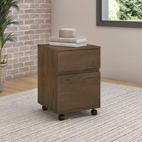 Bush Furniture Anthropology 2 Drawer Mobile File Cabinet