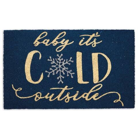 DII Snowplace Like Home Doormat