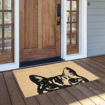 Porch & Den Foran Coir Doormat - 24 x 36