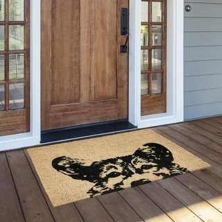 Porch & Den Gerber Coir Doormat