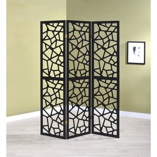 Decorative Mosaic Pattern Folding Screens Room Divider