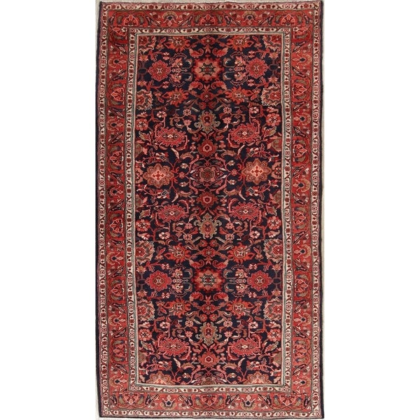 "Nanaj Oriental Hand Knotted Wool Persian Area Rug - 10'3"" x 5'6"""