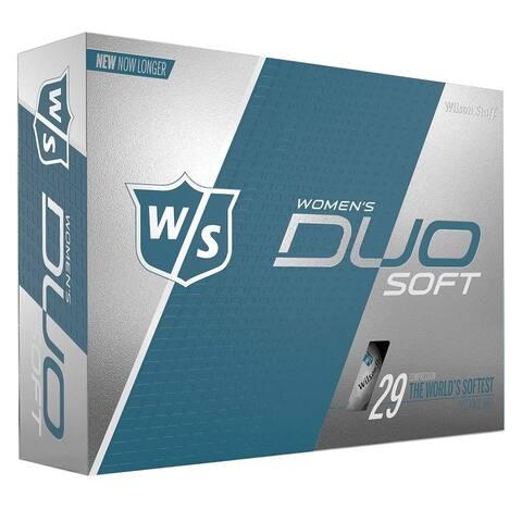 Wilson Women Staff DUO Soft Golf Balls - 1 Dozen
