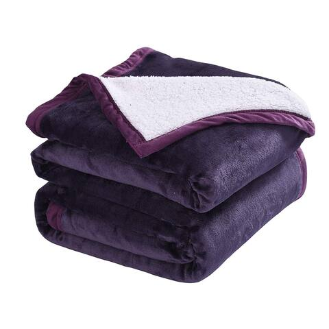 Porch & Den Linmere Sherpa Throw Blanket
