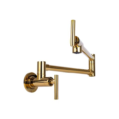 Brienza by Italia Modern Pot Filler Faucet in 6 Finishes