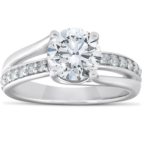 717be8b85f2da 2 to 2.5 Carats Engagement Rings | Shop Online at Overstock