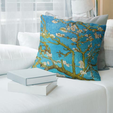 Porch & Den Vincent Van Gogh 'Almond Blossom' Throw Pillow