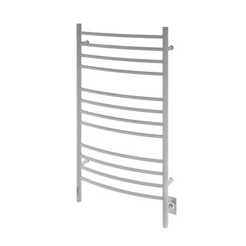 Ancona Lustra 12-Bar Dual Brushed Towel Warmer with On-Board Timer