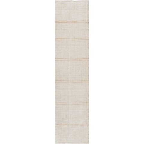 "Pasargad Home Vintage Kilim Style Hand-Woven Hemp Runner- - 2' 6"" X 11'11"""