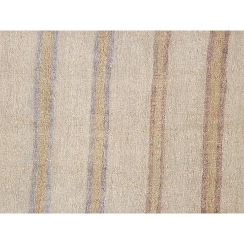 "Pasargad Home Vintage Kilim Style Hand-Woven Hemp Area Rug - 5'10"" X 6' 5"""