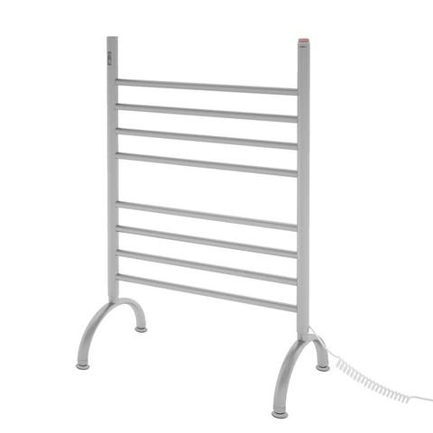 Ancona Essentia 8-Bar Brushed Towel Warmer with On-Board Timer