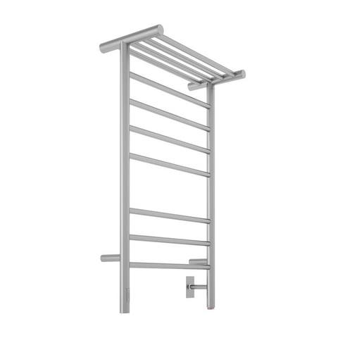 Ancona Liazzo 8-Bar Dual Brushed Towel Warmer with On-Board timer