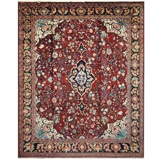 Handmade One-of-a-Kind Mahal Wool Rug (India) - 11'2 x 13'9